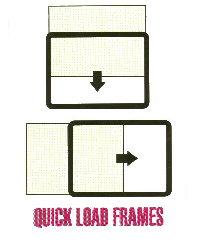 Frame-it quickload frames